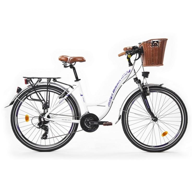 Bisan Ctx 6100 Şehir Bisikleti 26 Jant (Gri Pembe)
