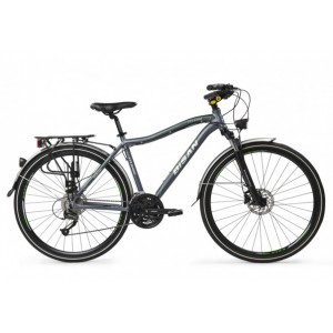 Bisan Ctx 6400 Şehir Bisikleti 28 Jant (Gri-Sarı...
