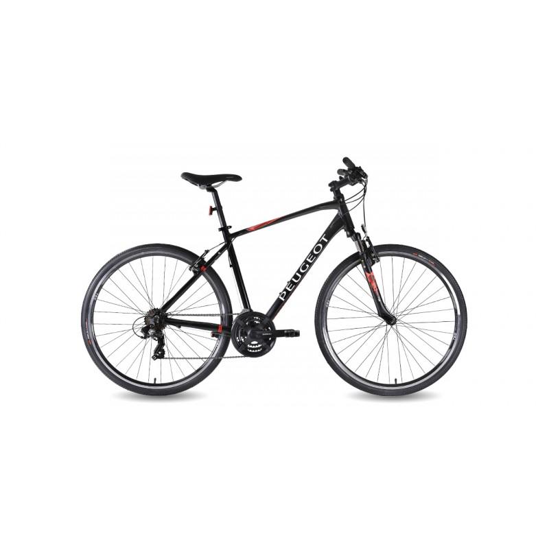 Peugeot T17Fs 28 V Trekking Bisiklet (Siyah-Mavi)