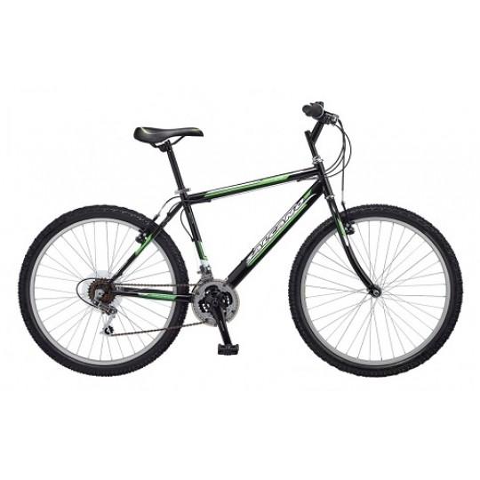 Salcano Excel 26 Jant Dağ Bisikleti (Siyah-Yeşil-Koyu Gri)