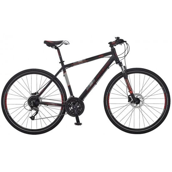 Salcano City Sport 10 HD Şehir Bisikleti (Siyah-Turuncu)