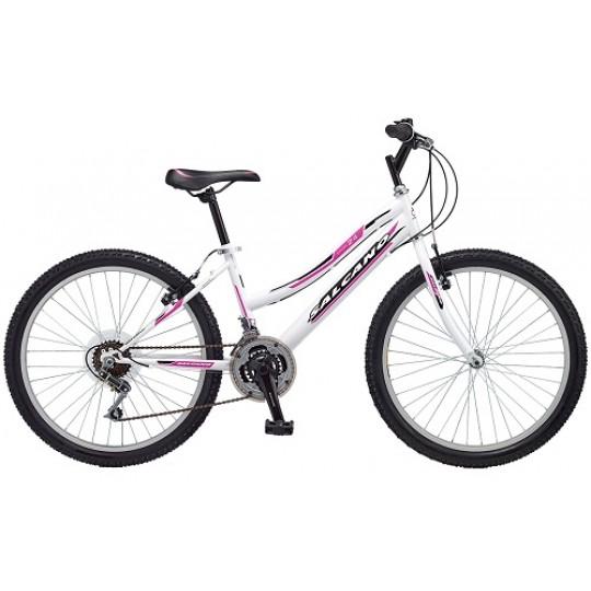 Salcano Excel 24 Lady Dağ Bisikleti (Kırmızı-Siyah-Koyu-Gri)
