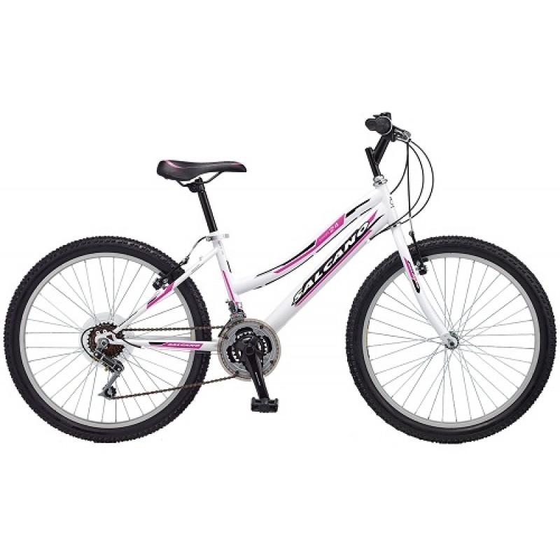 Salcano Excel 24 Lady Dağ Bisikleti (Kırmızı-S...