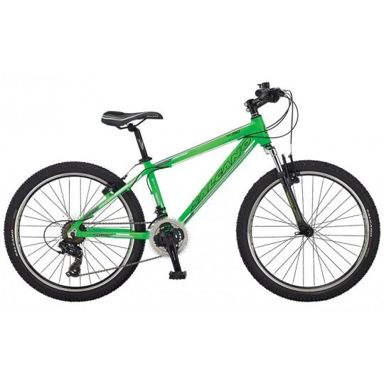 Salcano Ng750 Dağ Bisikleti 24 Jant (Siyah-Yeşil-Turkuaz)