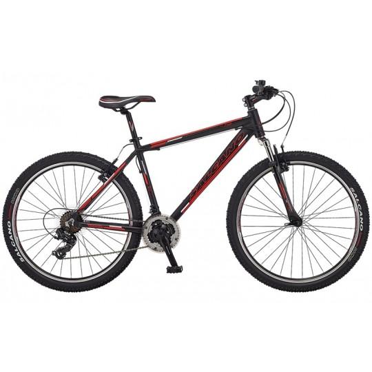 Salcano Ng750 26 V Dağ Bisikleti (Mat Siyah Turkuaz)
