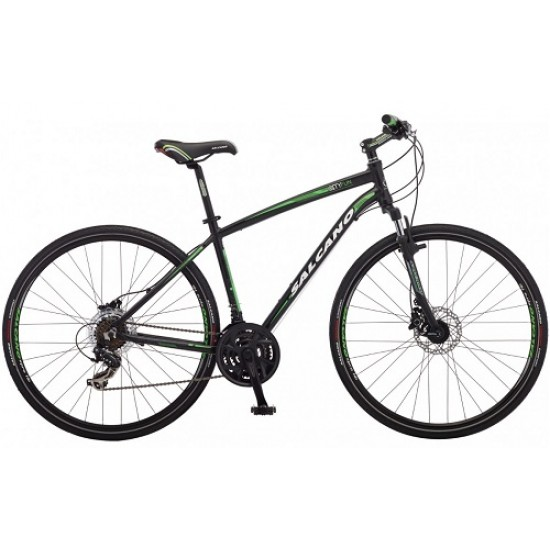 Salcano City Fun S 50 Hd Şehir Bisikleti (Siyah-Kırmızı)